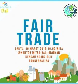 #AkberBali38 : Kelas Fair Trade dengan Bapak Agung Alit